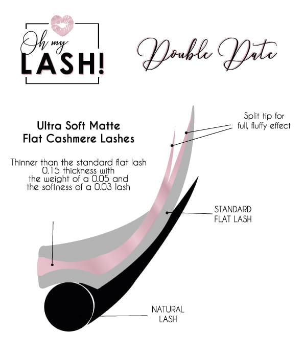 Ultra Soft Matte Flat Cashmere Lashes